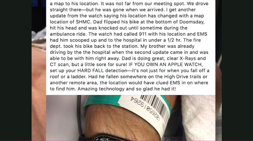 2019 09 26 11 37 31 ​Apple Watch Alerts Emergency Services After Man Suffers Hard Fall From Bike L