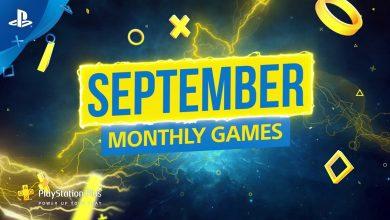 Photo of ألعاب سبتمبر 2019 المجانية على PS4