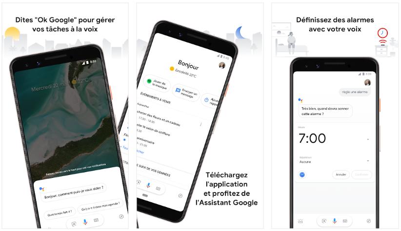 2019 10 04 08 37 38 Assistant Google – Simplifiez vous la vie – Applications sur Google Play