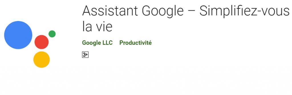 2019 10 04 09 55 15 Assistant Google – Simplifiez vous la vie – Applications sur Google Play