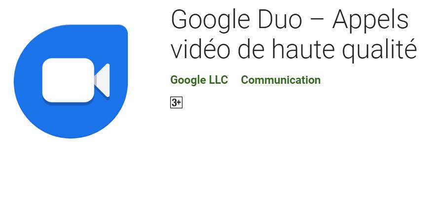 2019 10 04 09 59 19 Google Duo – Appels vidéo de haute qualité – Applications sur Google Play