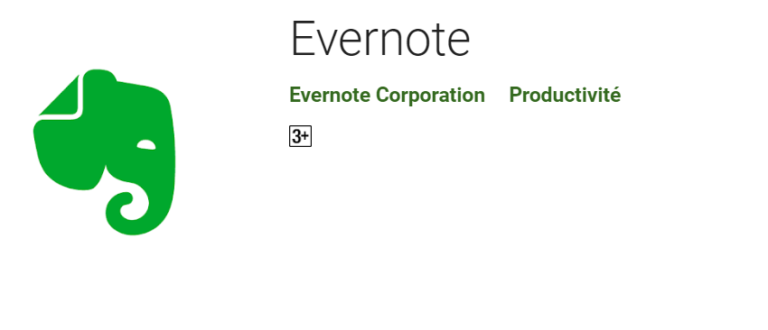 2019 10 04 10 00 55 Evernote – Applications sur Google Play