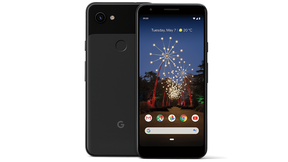 2019 pixel3a au image secondary front back black cmyk