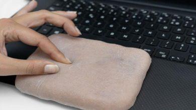 Photo of هاتف ذكي يضحك ويغضب.. مع جلد اصطناعي شبيه بجلد الإنسان