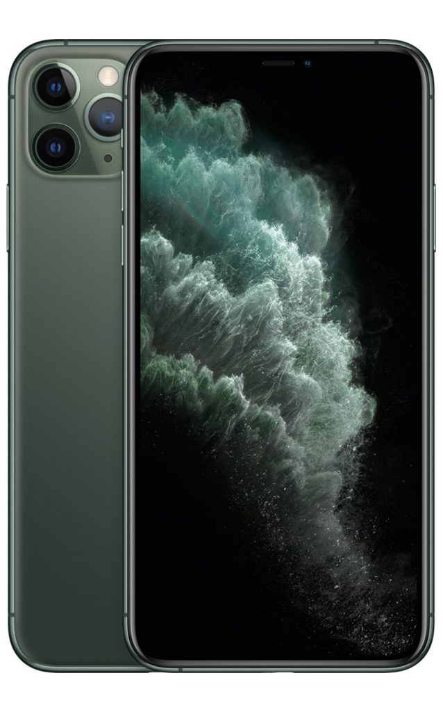 Apple iPhone 11 Pro Max Midnight Green frontimage