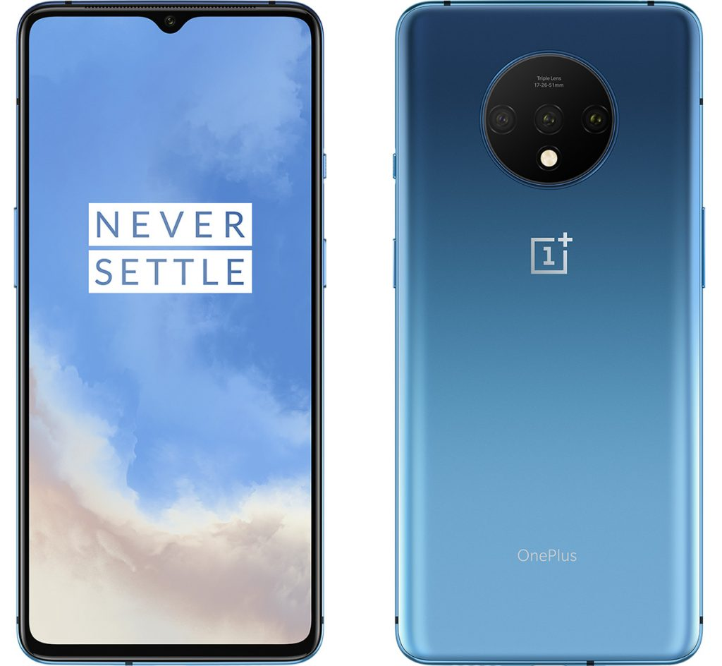 oneplus 7t blue official