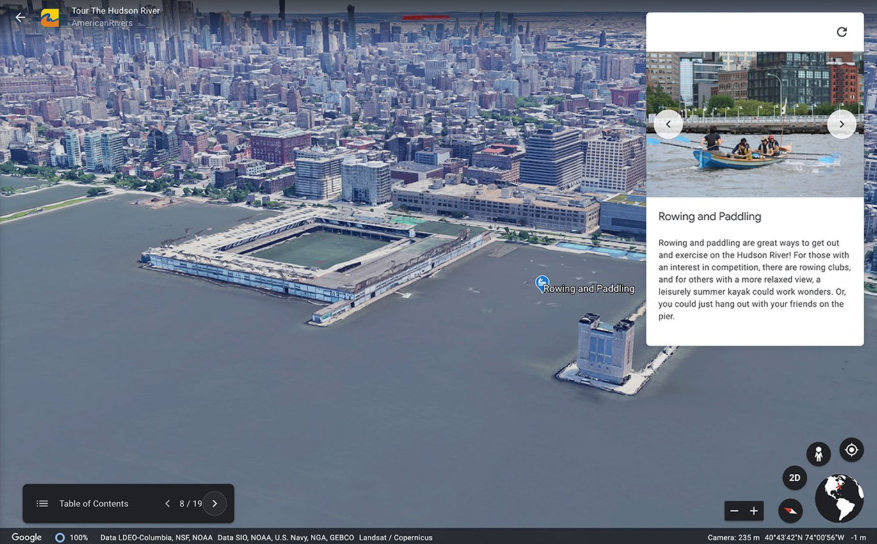Create your own maps and stories in Google Earth