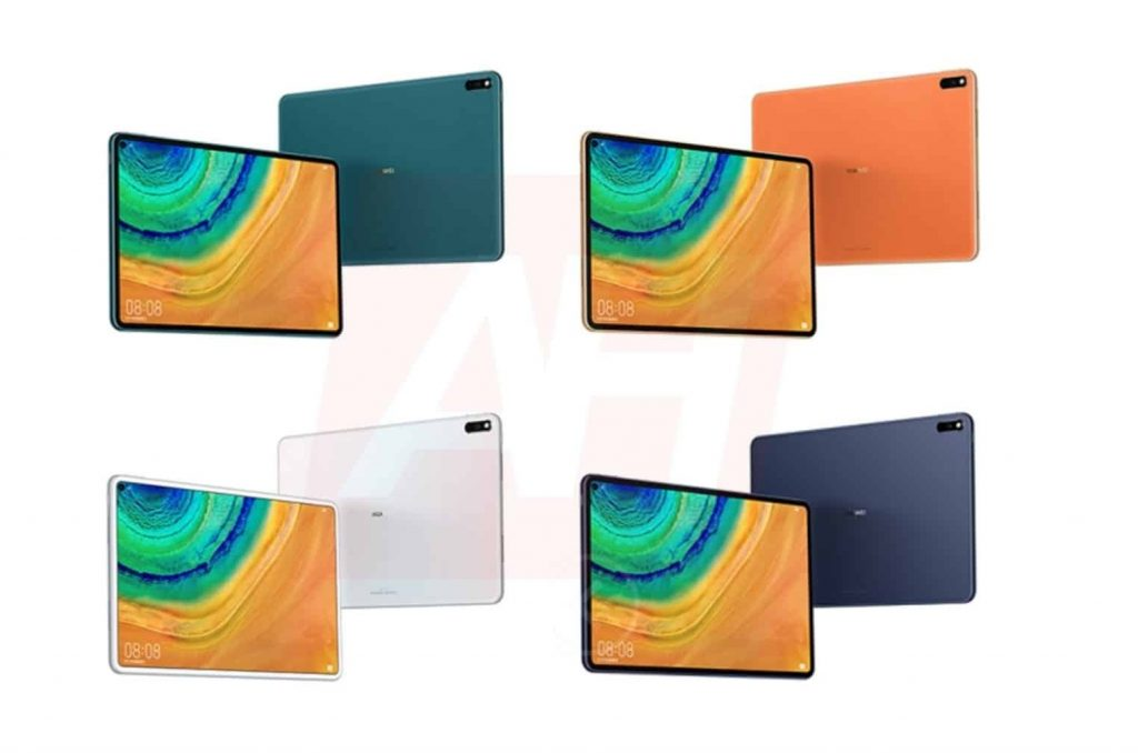 Huawei MatePad Pro colors