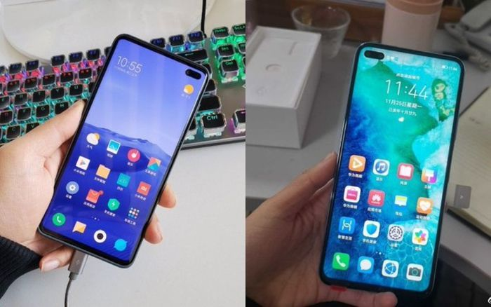 Redmi K Huawei V