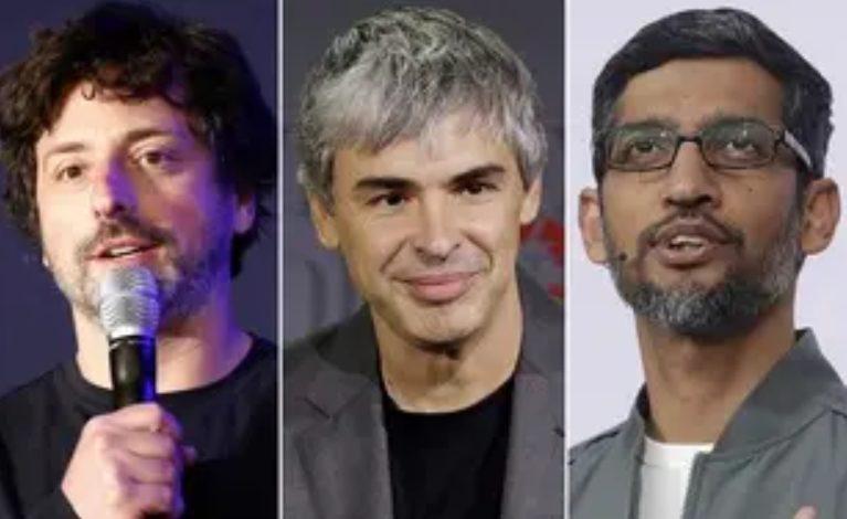 cofondateurs google sergey brin larry page