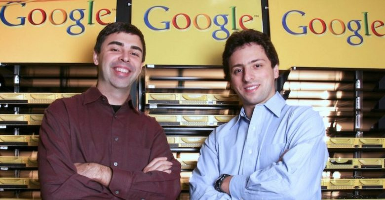 larry page et sergey brin google