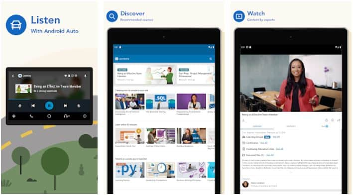 LinkedIn Learning Online Courses to Learn Skills Apps on Google Play