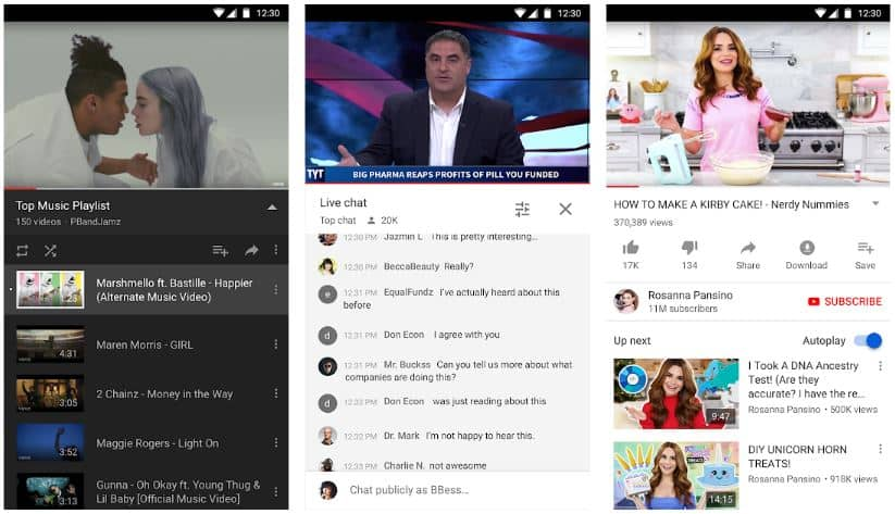 YouTube Apps on Google Play